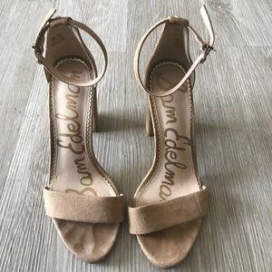Sam Edelman Suede Nude Sandals